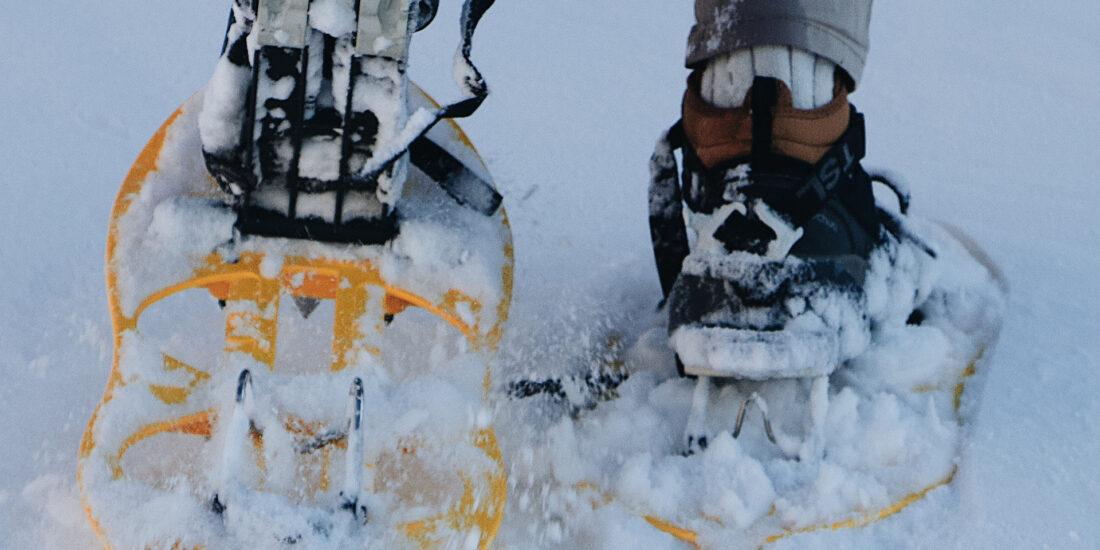 Schneeschuhlaufen Klöntal